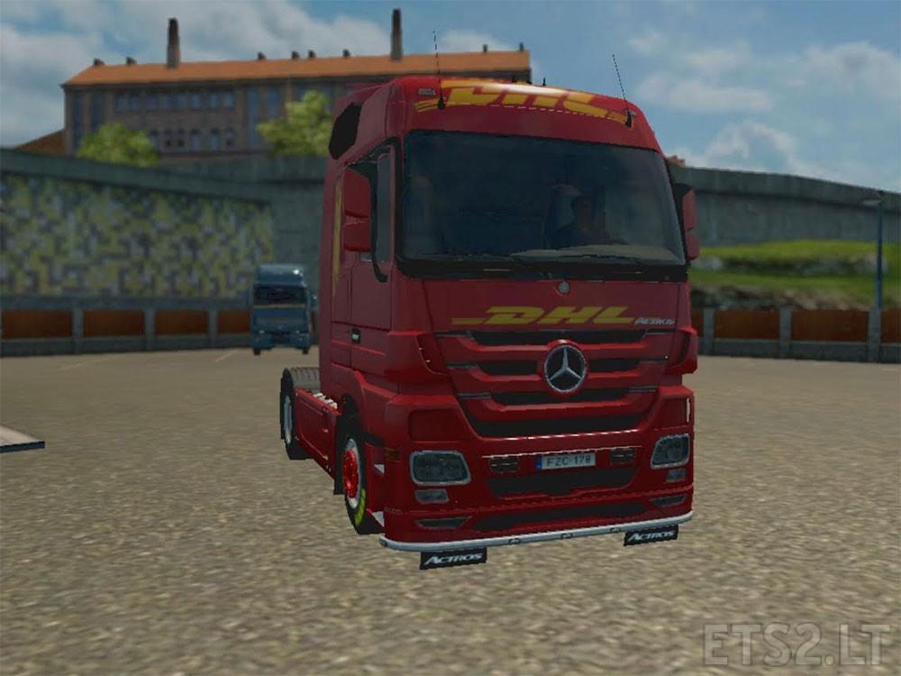 Trucks scania ets 2 mods part 12 - Dhl Ets 2 Mods Part 4