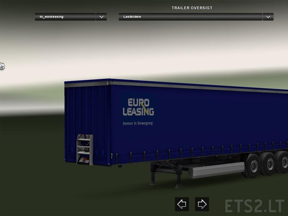 euro leasing trailer ets 2 mods. Black Bedroom Furniture Sets. Home Design Ideas