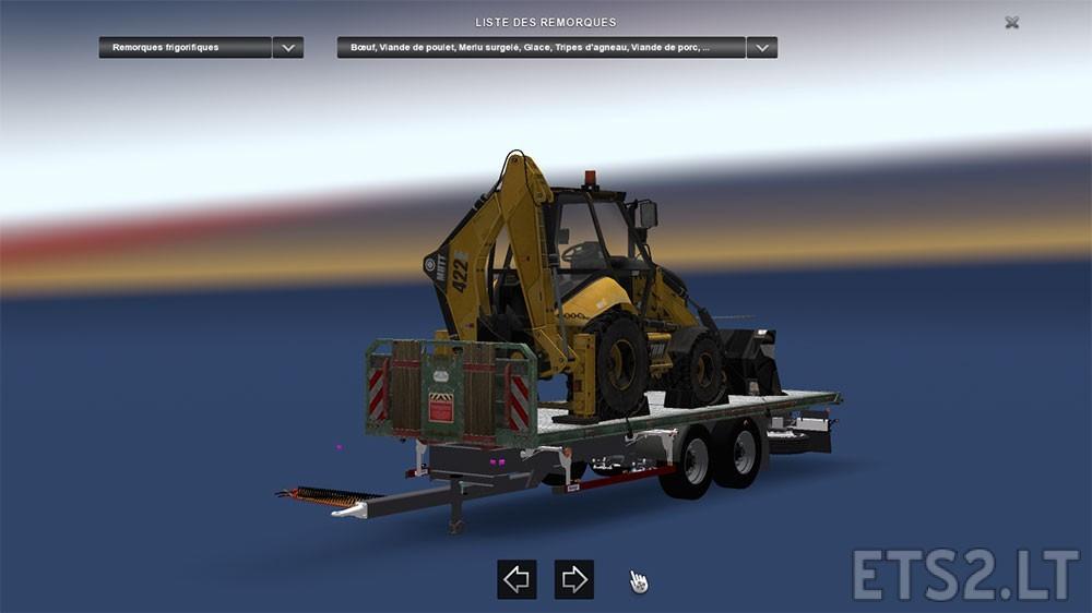 flatbed-semitrailer