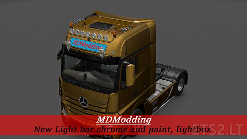 light bar ets 2 mods