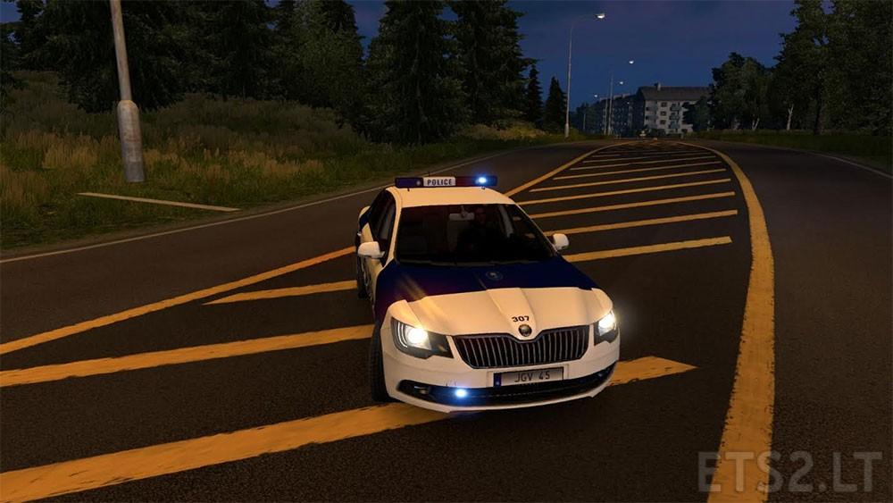 Police   ETS 2 mods