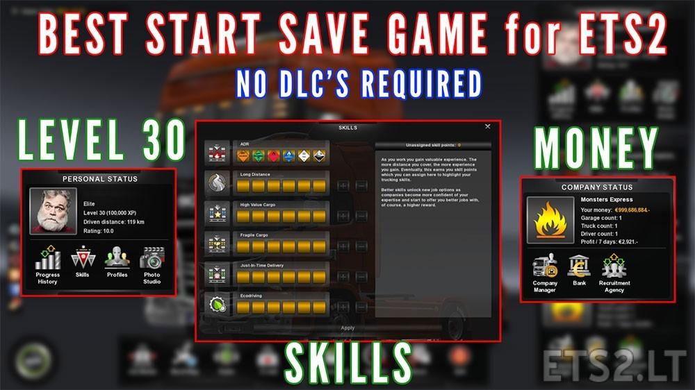 start-save-game