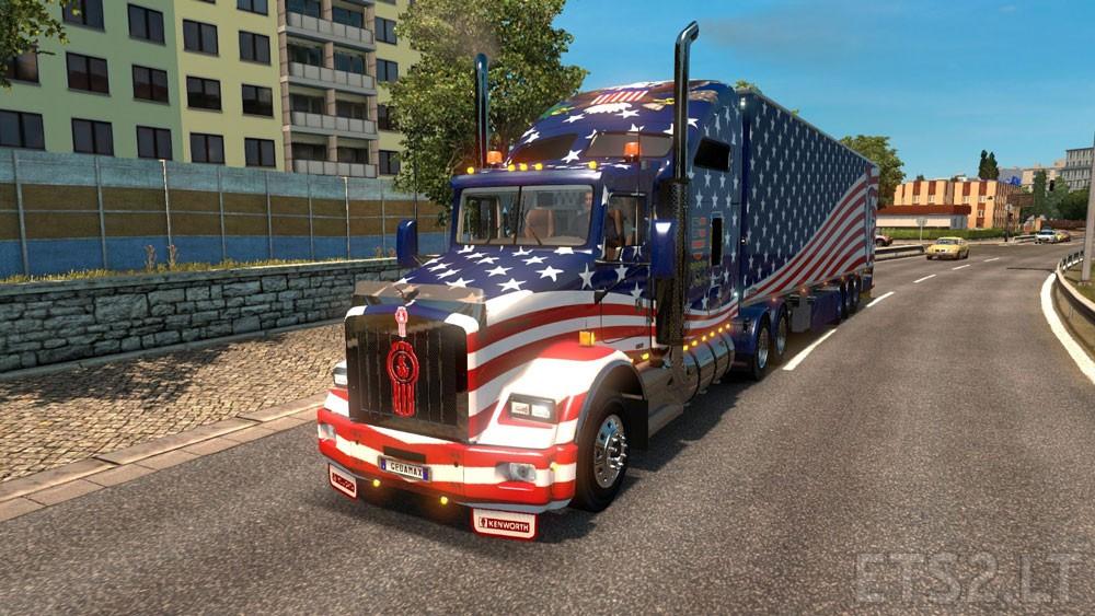 american trucks ets 2 mods. Black Bedroom Furniture Sets. Home Design Ideas