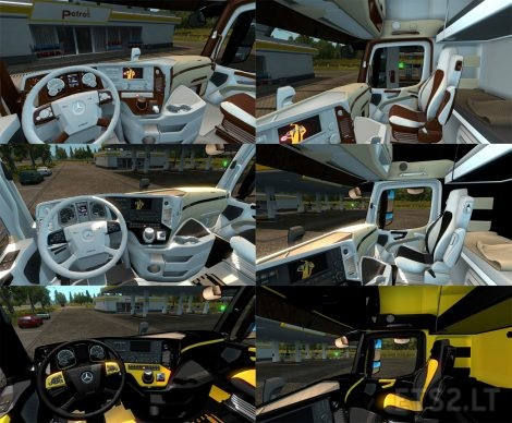 Mercedes-Interiors
