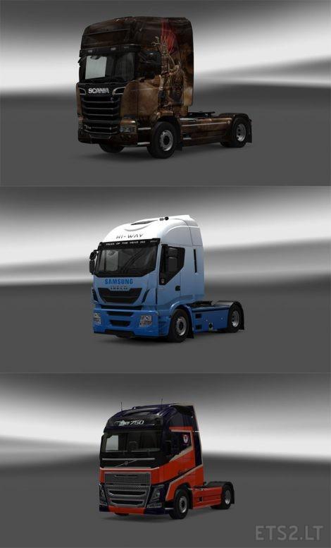 Trucks-Skin-Pack