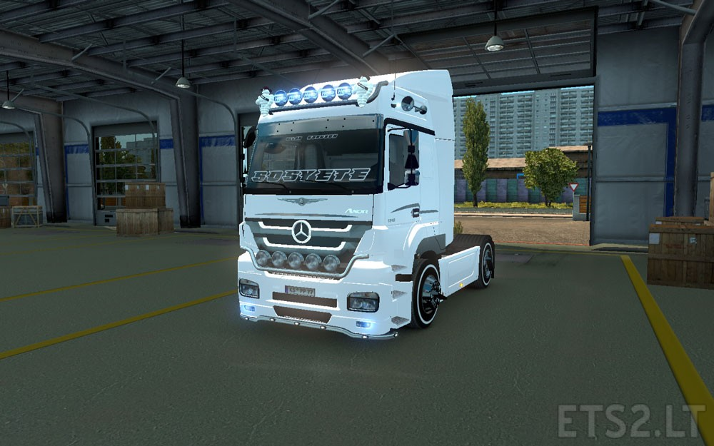 Turkish job mercedes benz axor download free game mods for Mercedes benz jobs