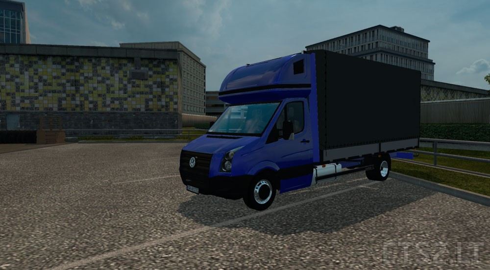 vw crafter 2 5 tdi by diablo ets 2 mods. Black Bedroom Furniture Sets. Home Design Ideas