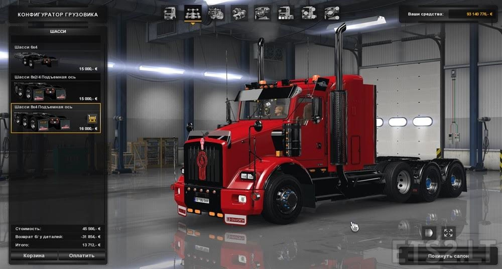 Kenworth T800 Ets 2 Mods