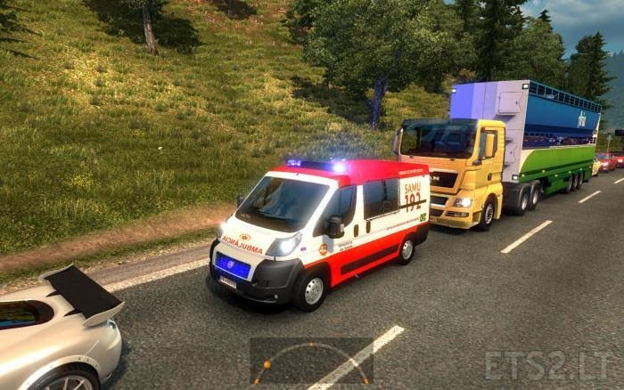 Great mod on Traffic ETS2 v1 24 2 1s Update | ETS 2 mods