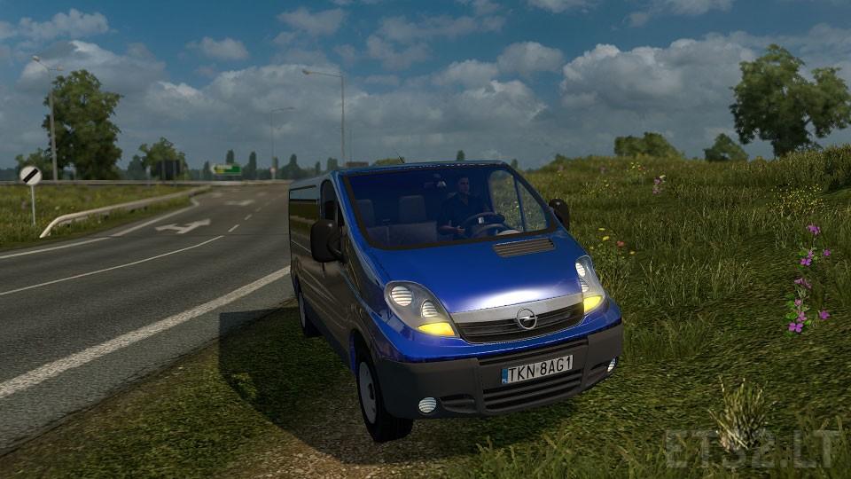 Opel Vivaro V1   ETS 2 mods