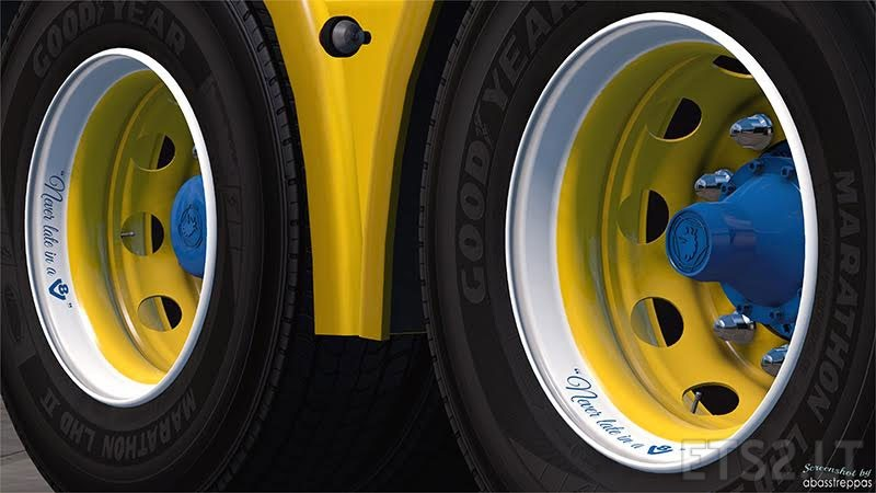 Abasstreppas wheelpack 3.0 | ETS 2 mods