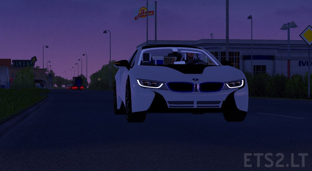 New Bmw I8 V1 24 X Ets 2 Mods