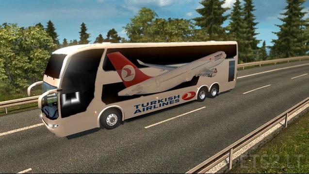 Big Bus Traffic Pack v 1 4 8   ETS 2 mods