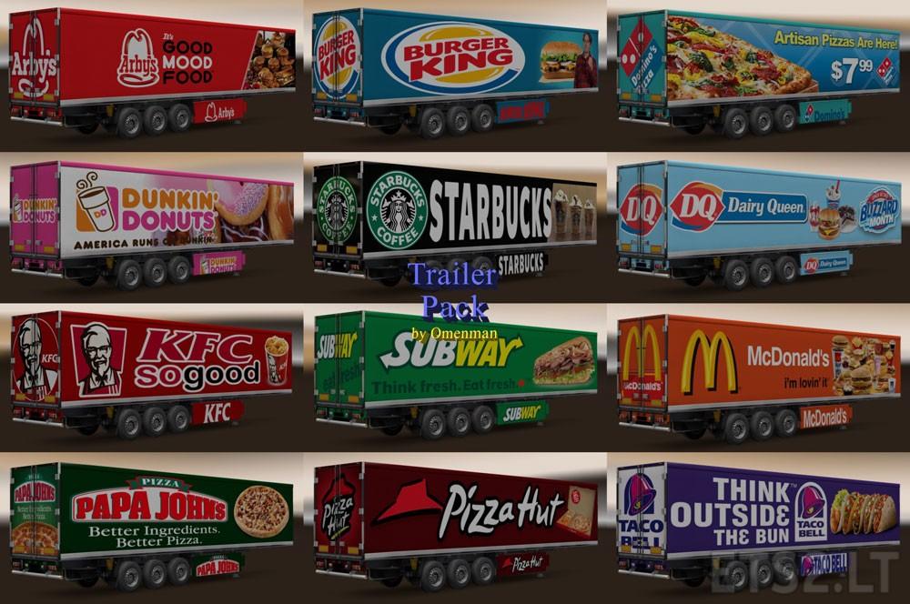 Fast Food | ETS 2 mods