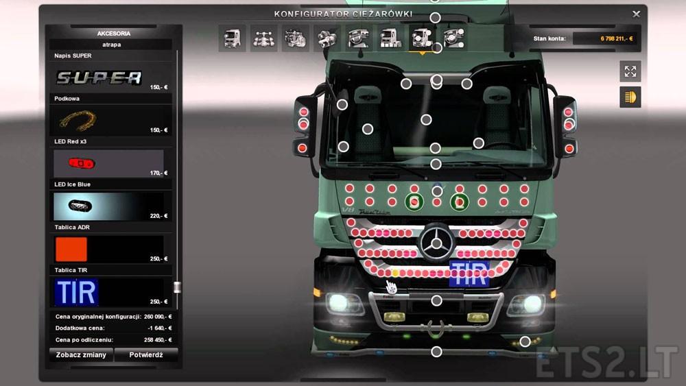Mercedes Mega Tuning Mod Ets 2 Mods