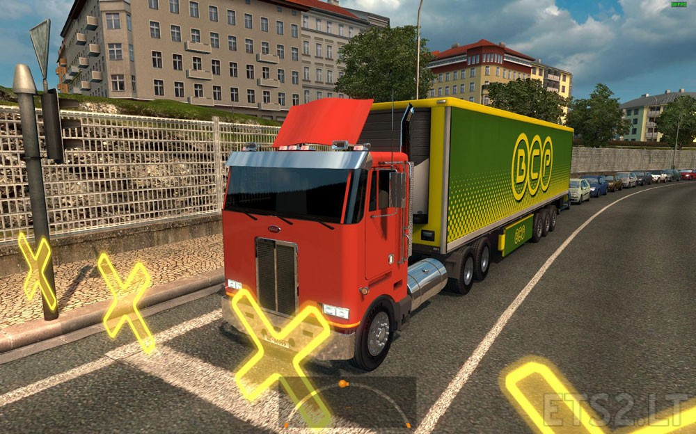 Peterbilt 362 in Traffic | ETS 2 mods