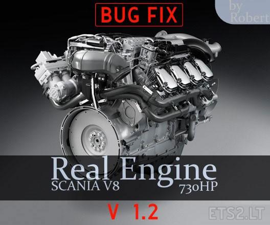 scania engine | ETS 2 mods