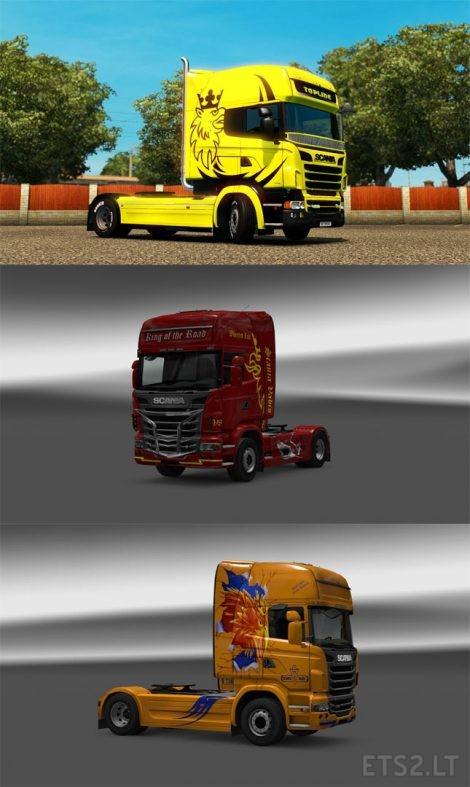 Scania-Skin-Pack