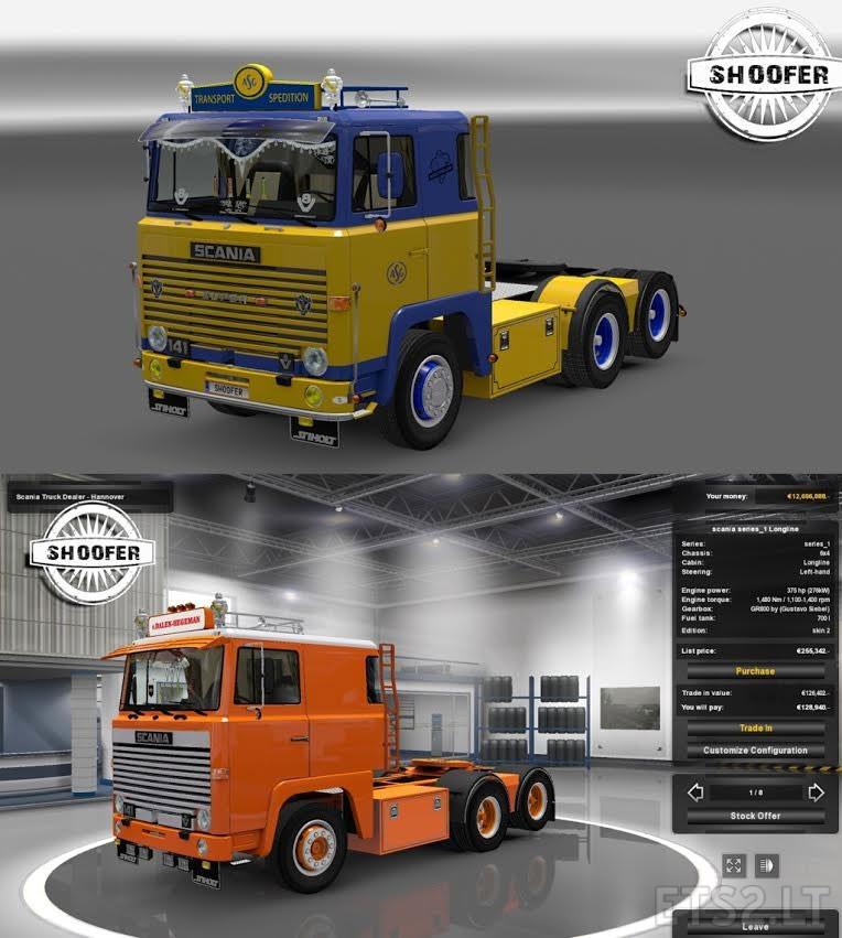 Scania 1series Version 2 Ets 2 Mods