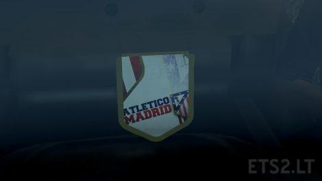 Atletico Madrid Flags & Pennants 2