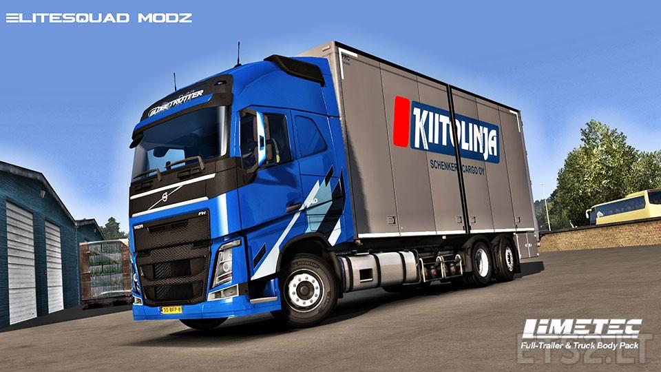 Limetec Full Trailer Amp Truck Body Pack V 1 0 Ets 2 Mods
