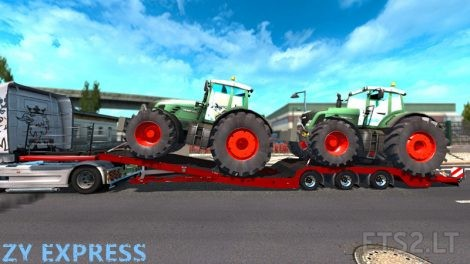 Trailer-with-2-Tractors