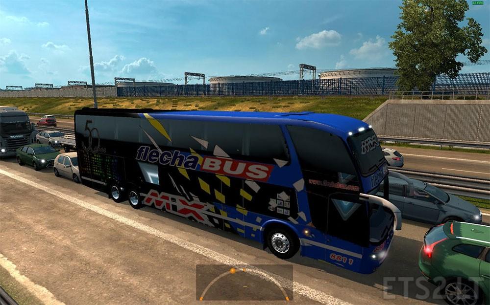 Argentina ETS Mods - Argentina bus map