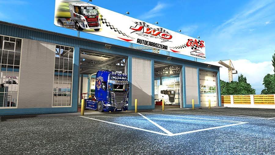 New garage 1 1 ets2 ets 2 mods for New garage