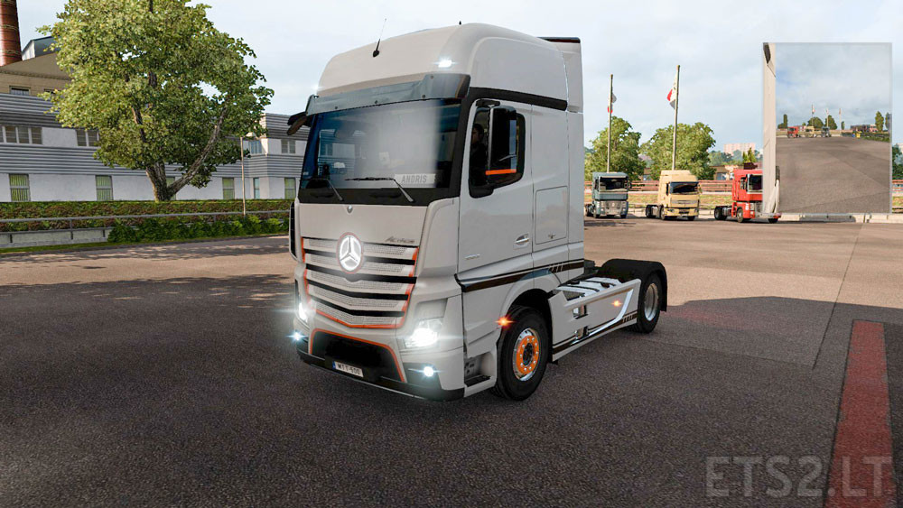actros ets 2 mods part 3. Black Bedroom Furniture Sets. Home Design Ideas