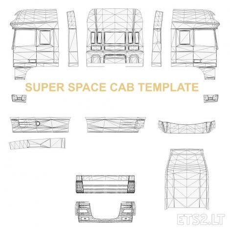 Templates-for-DAF-XF-105-2