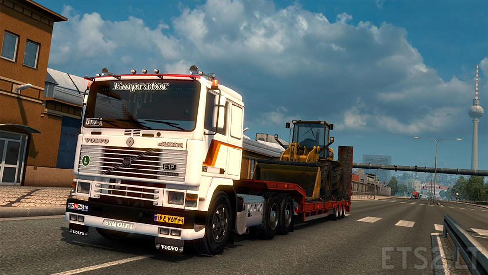 how to get to the daf dealer in ets 2