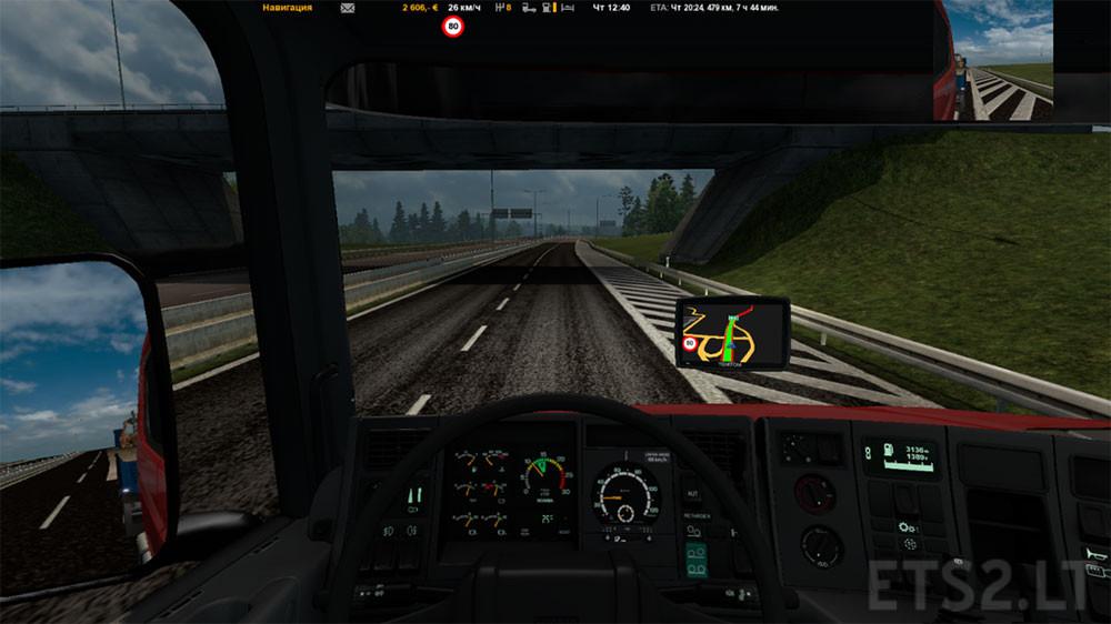 Scania rjl white interior ets 2 mods - Gps Ets 2 Mods