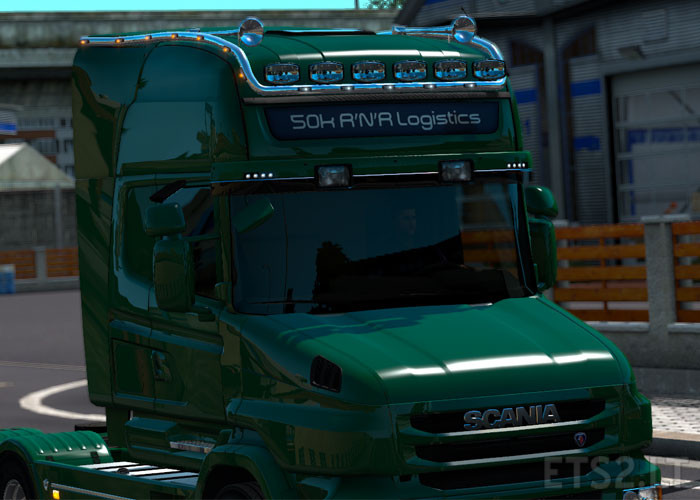 Long Roofgrill For Scania Rs Amp T Rjl V 1 0 Ets 2 Mods