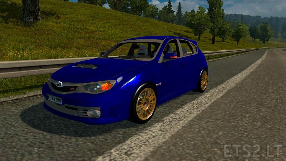 Subaru Impreza Wrx Sti V1 Ets 2 Mods