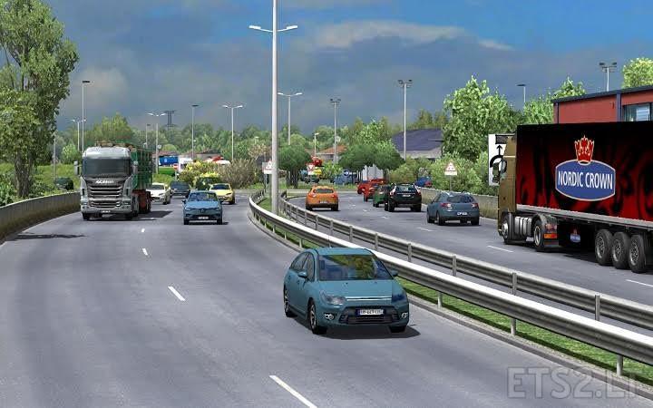 Traffic density mod for ETS2 1 26 | ETS 2 mods