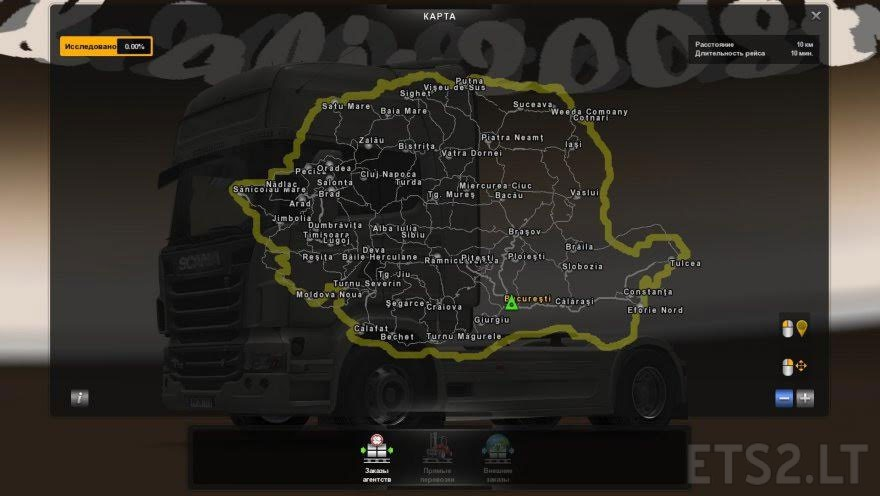 Map Of Romania V8 7 Ets 2 Mods