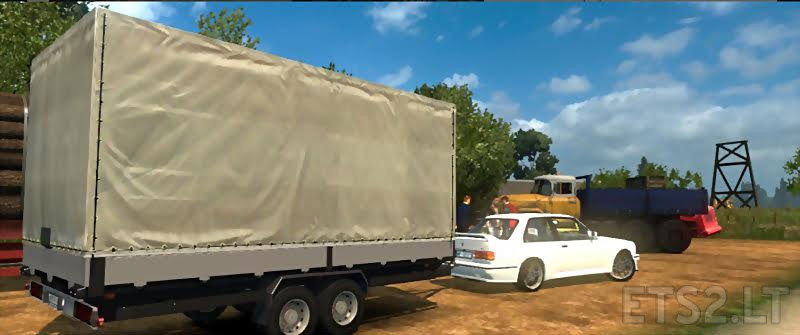 Trailer For Cars Ets 2 Mods