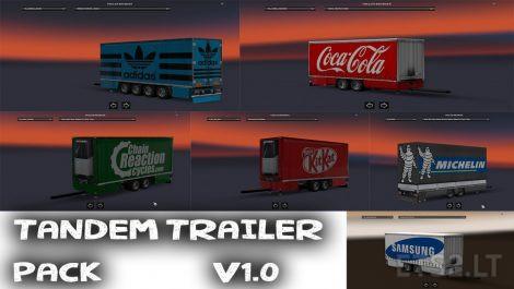 tandem-trailers