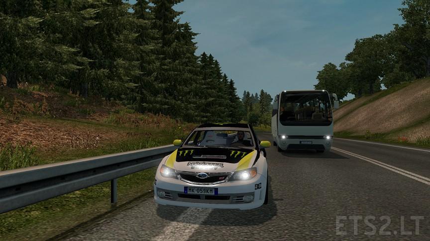 Subaru Impreza WRX STI V2 1 | ETS 2 mods