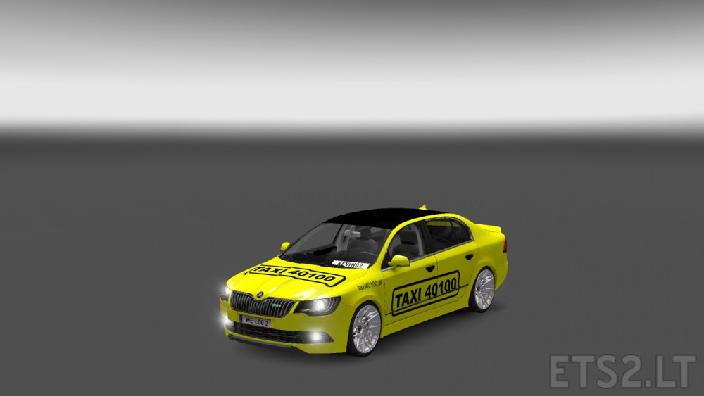 Skoda Vienna Taxi Ets 2 Mods