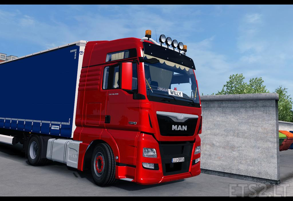 man tgx euro6 xxl ets 2 mods. Black Bedroom Furniture Sets. Home Design Ideas