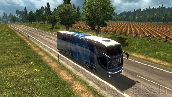 S S C Napoli: Bus Marcopolo G7 1600LD S.S.C Napoli Skin