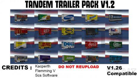 Tandem-Trailer
