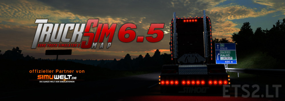 TSM Map 6 5 | ETS 2 mods