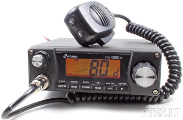 Stabo xm 4060e cb radio v 11b ets 2 mods added possibility to buy cb radio with english radio chatter or without it sciox Gallery