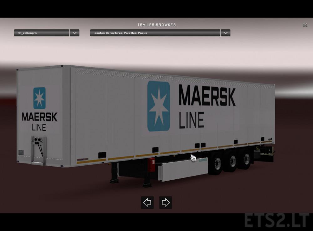 maersk | ETS 2 mods - Part 3
