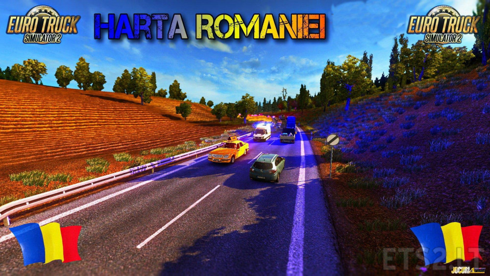 Map Of Romania V 9 1 1 26 X Ets 2 Mods