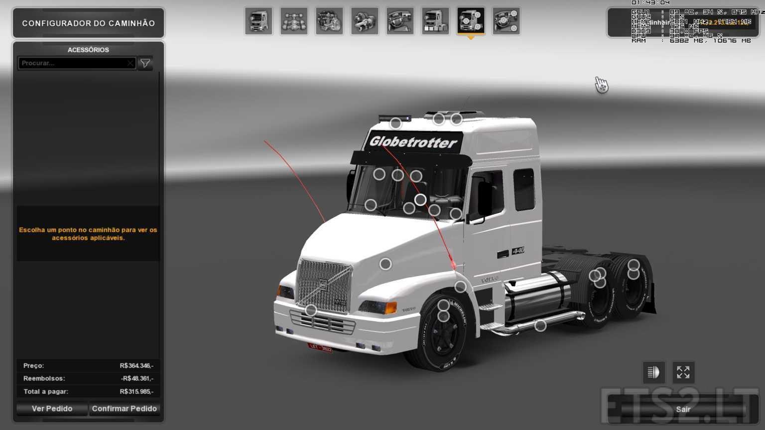 Volvo on Game Trucks Volvo N10