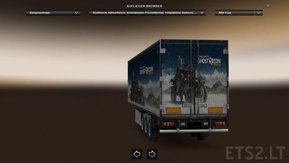 Ghost Recon Wildlands Trailer Skin | ETS 2 mods