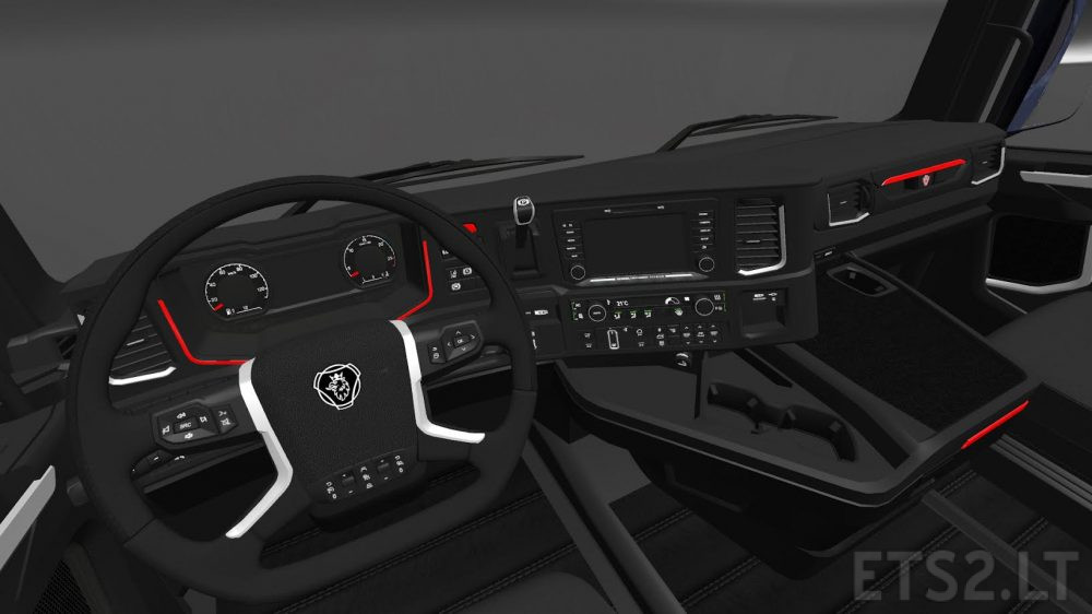HD Interior for Scania S730 | ETS 2 mods